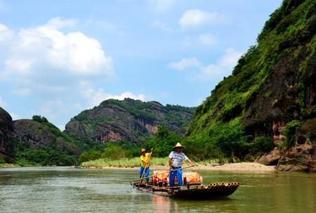 龙虎山-竹筏1