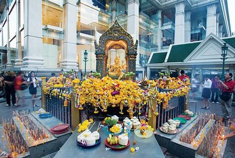 泰国-曼谷四面佛1