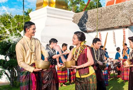 泰国-泼水节
