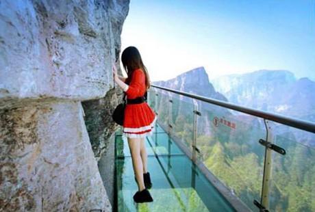 湖南-天门山玻璃栈道1