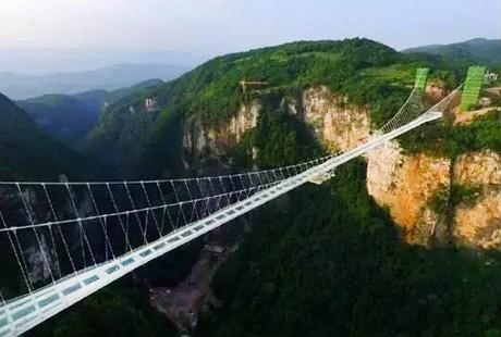 湖南-张家界大峡谷玻璃桥1