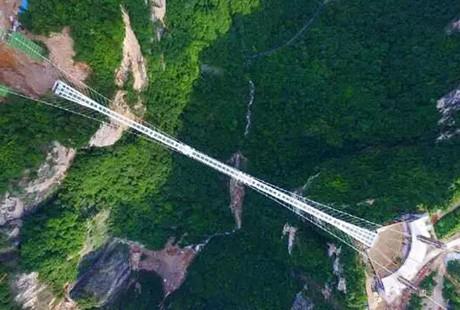 湖南-张家界大峡谷玻璃桥3