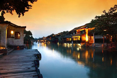 <皇牌江南>杭州、苏州、上海、水乡乌镇 双高4日游赠送船游七里山塘、赠送宋城景区