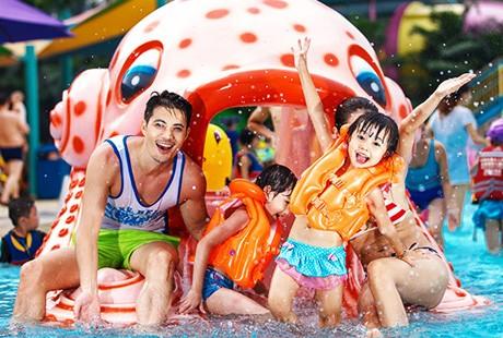 <一站通玩>长隆欢乐世界+野生动物世界+水上乐园 双卧5日游3大乐园通通畅玩