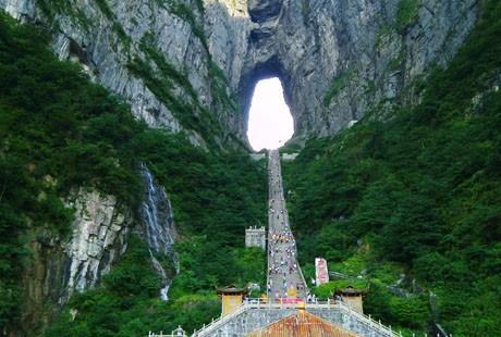 湖南-张家界天门山11