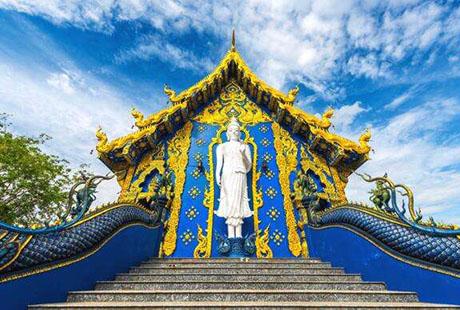 泰国清迈蓝庙2