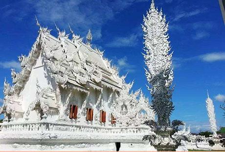 泰国清迈白庙2