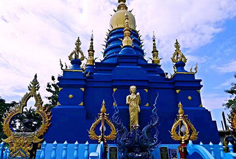 泰国清迈蓝庙1
