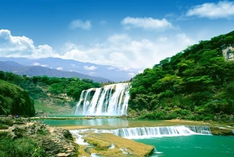【汇美贵州】黄果树瀑布、西江千户苗寨、荔波小七孔双高五日游亚洲第一大瀑布,天下第一大苗寨