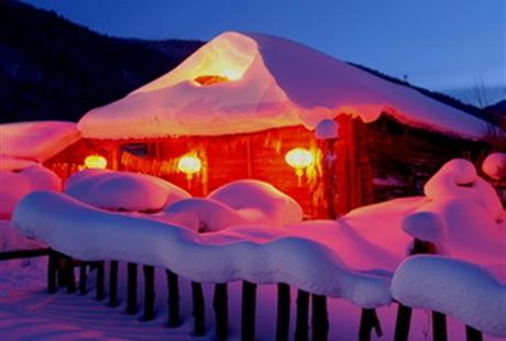【高品格】哈尔滨、滑雪、雪乡、冰雪世界双飞6日游(0购物)全程0购物